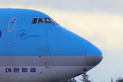 Korean Air Cargo B747