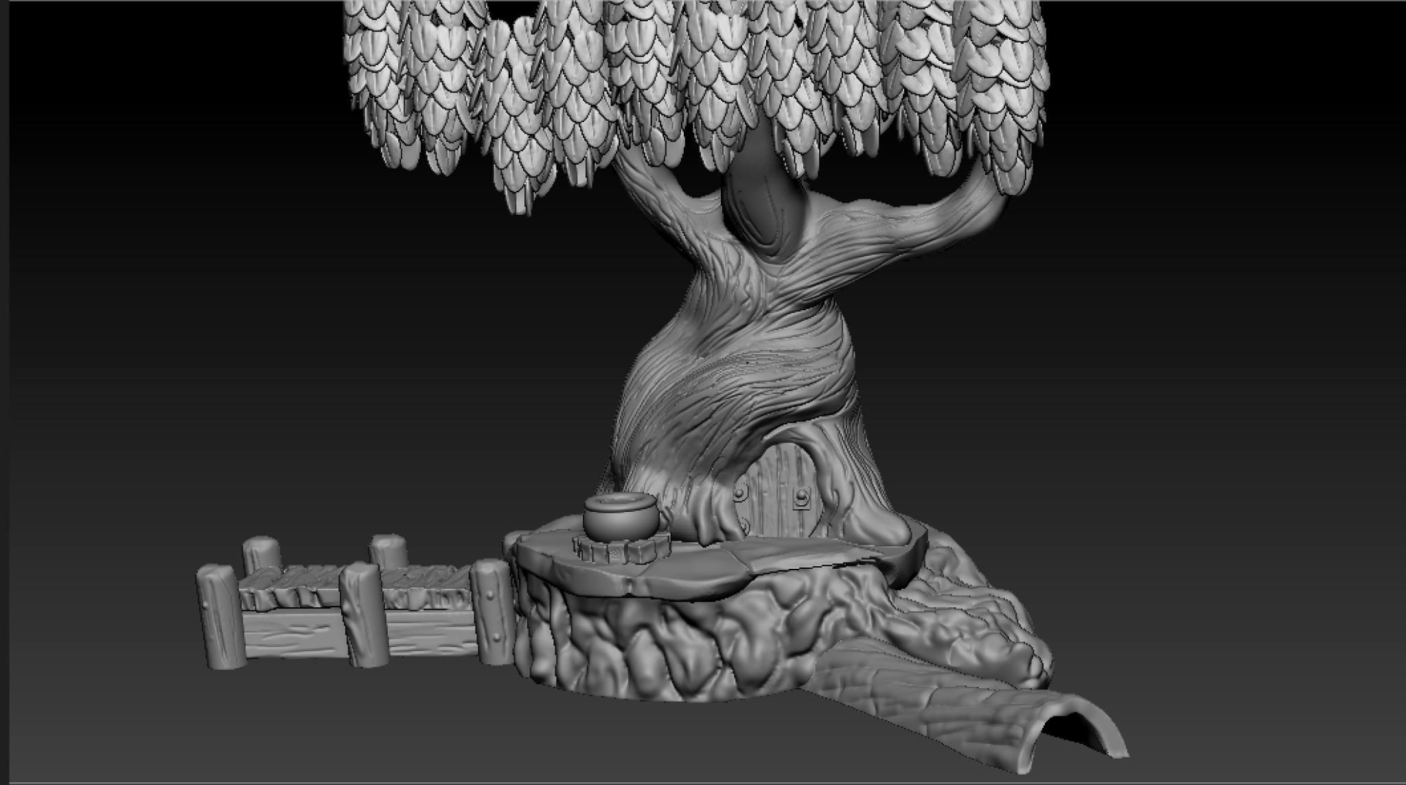 Tree house Zbrush
