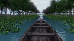 Indian lake.