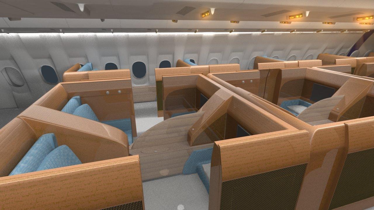 A340 interior