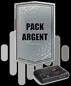 Pack Argent Megadrive