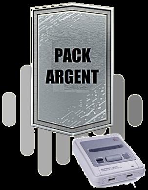 Pack Argent Snes (EUR)
