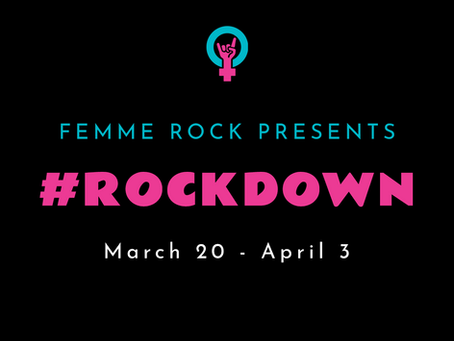 #Rockdown During Lockdown: A Daily Songwriting Challenge For Musicians in Quarantine