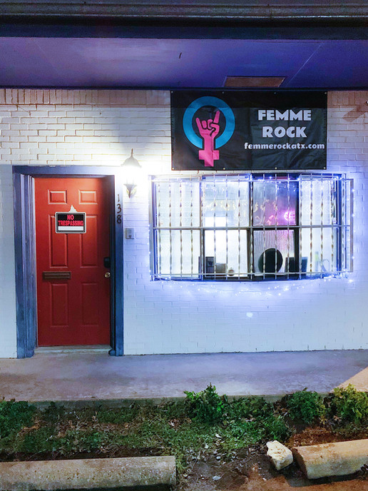 Femme Rock Band Rehearsal Space in Austin, TX