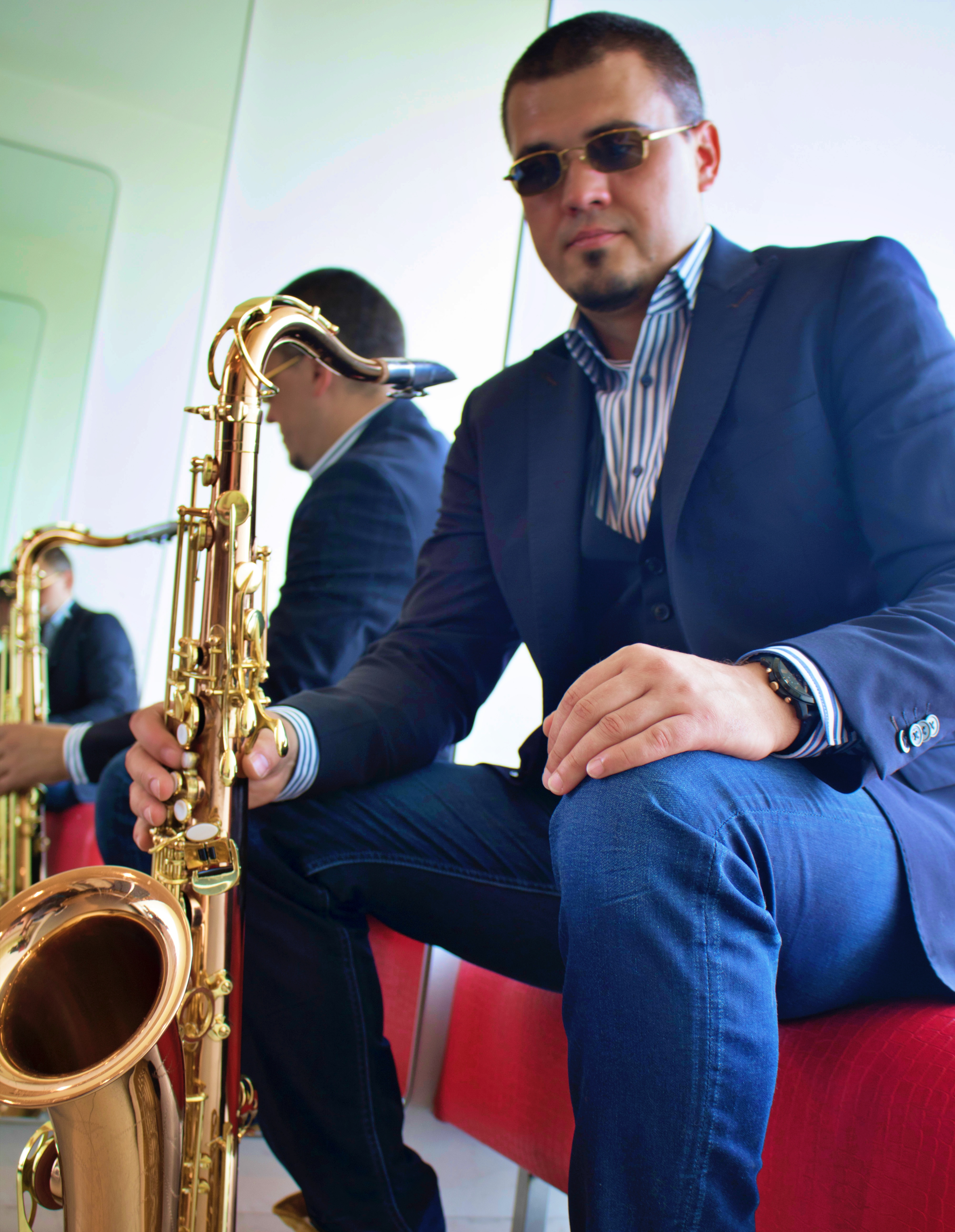 Saxophonist Frankfurt