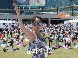 [인터뷰] 국악 요가음악 선보인 나디아 요가 이승아 원장