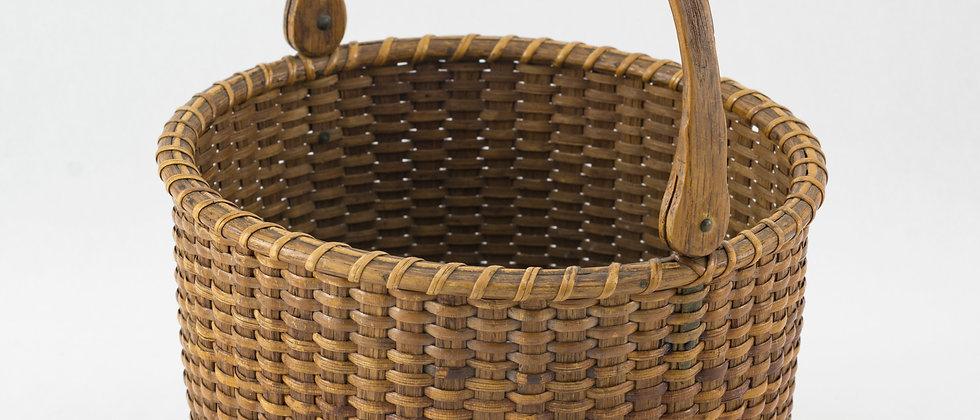 6″ Open Round Nantucket Lightship Basket