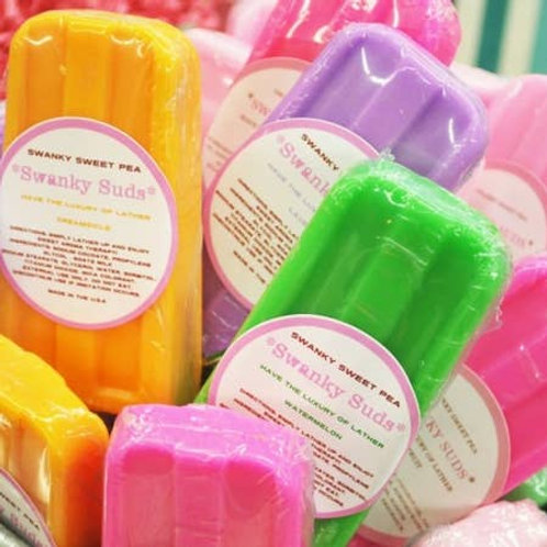 Swanky Pop Soap