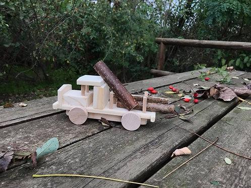 Camion porta legno