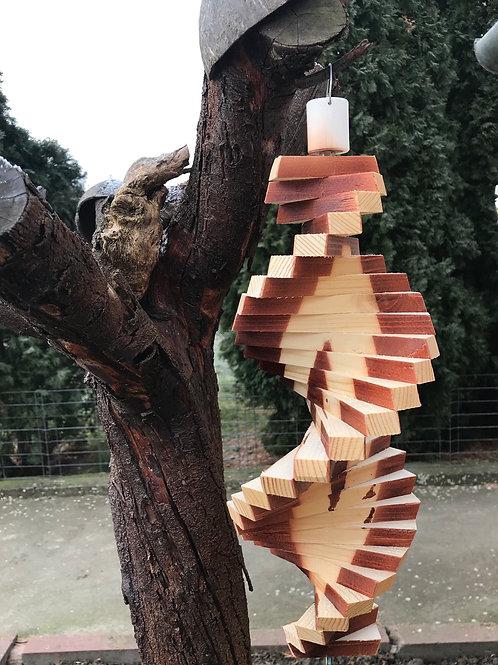 Spirale in legno