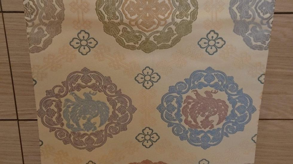 北尾織物 唐織 香色 袋帯