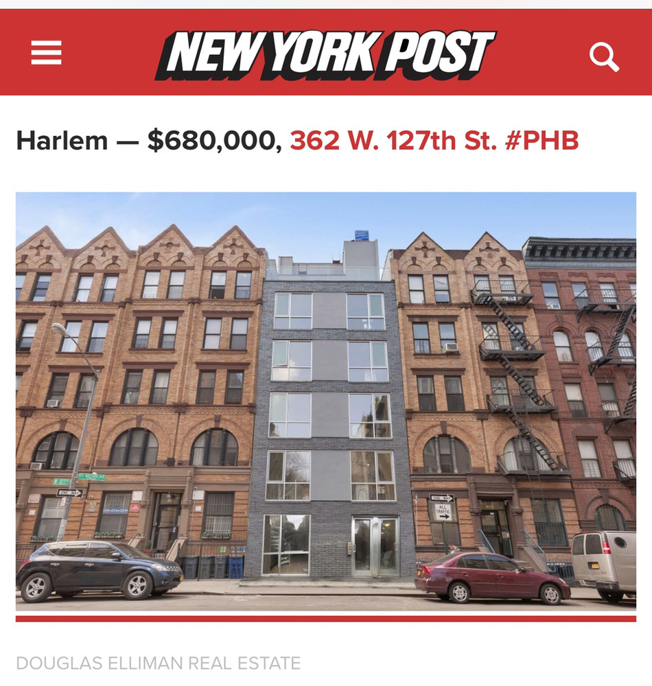 Our building in the New York Post..