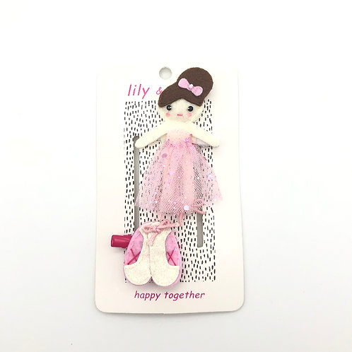 Tiny Dancer Ballerina hair clips