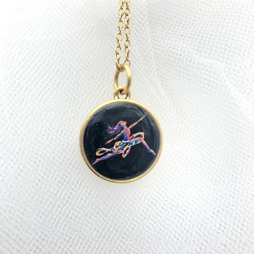 Modern Dancer Necklace