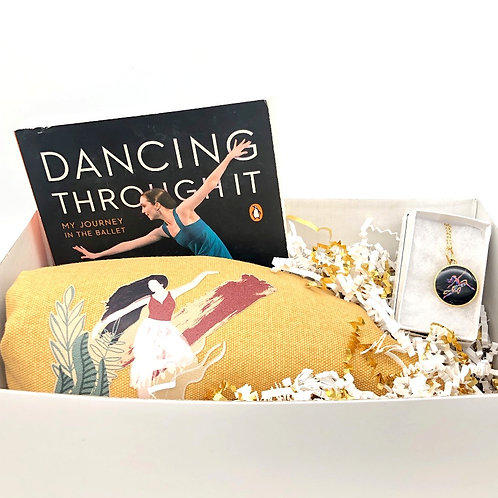 Grande Jeté Gift Box - Third Position - Gold