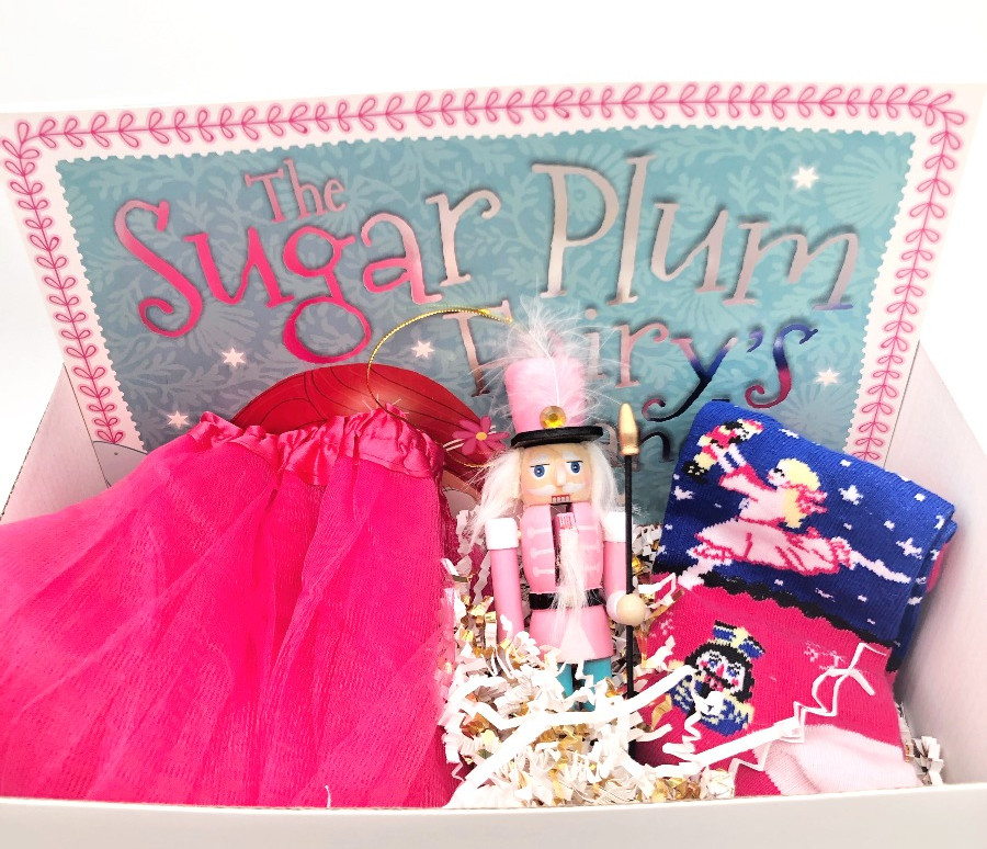 Pink Nutcracker Gift Box