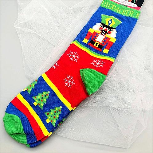 Nutcracker Socks - Kids & Adult Sizes
