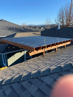 Patio Roof Riser