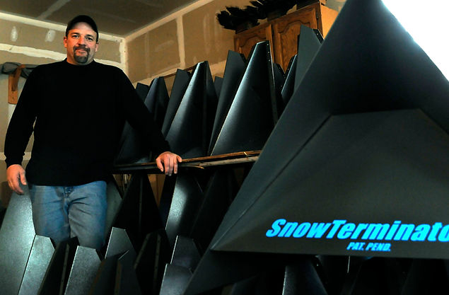 Bryan and his army of SNOW TERMINATORS