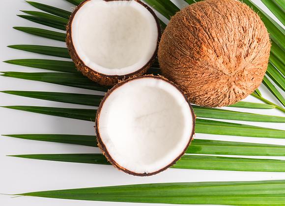 Unwrapped Coconut