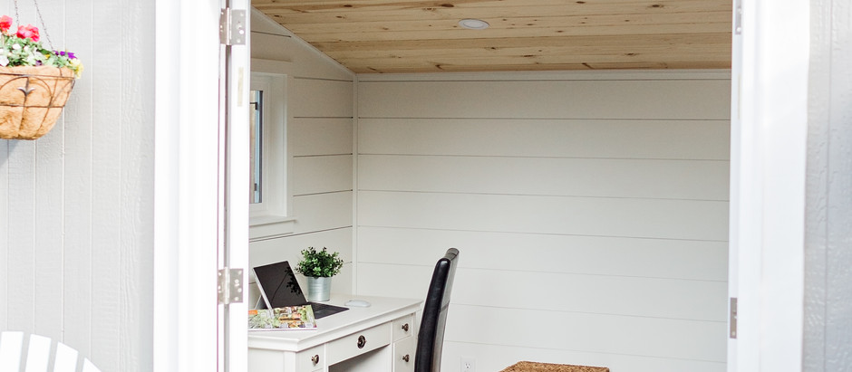 5 Benefits of an Outdoor Office