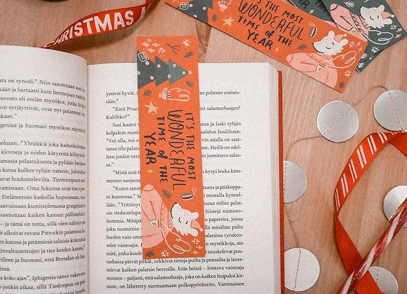 Vuoden ihaninta aikaa - Kirjanmerkki