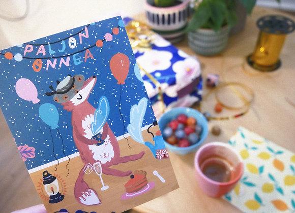 Juhlan taikaa - Postikortti