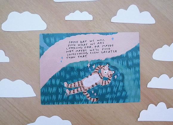 Unelmia - Postikortti