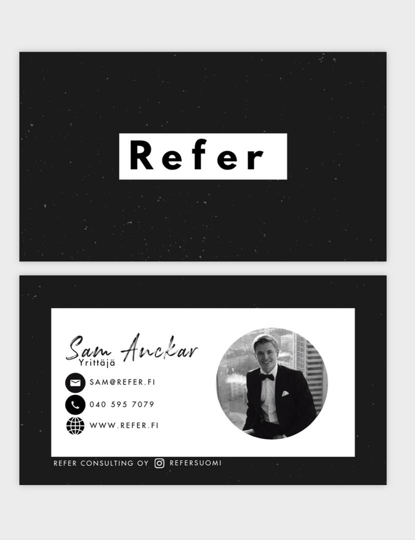 Refer Consulting/Käyntikortit