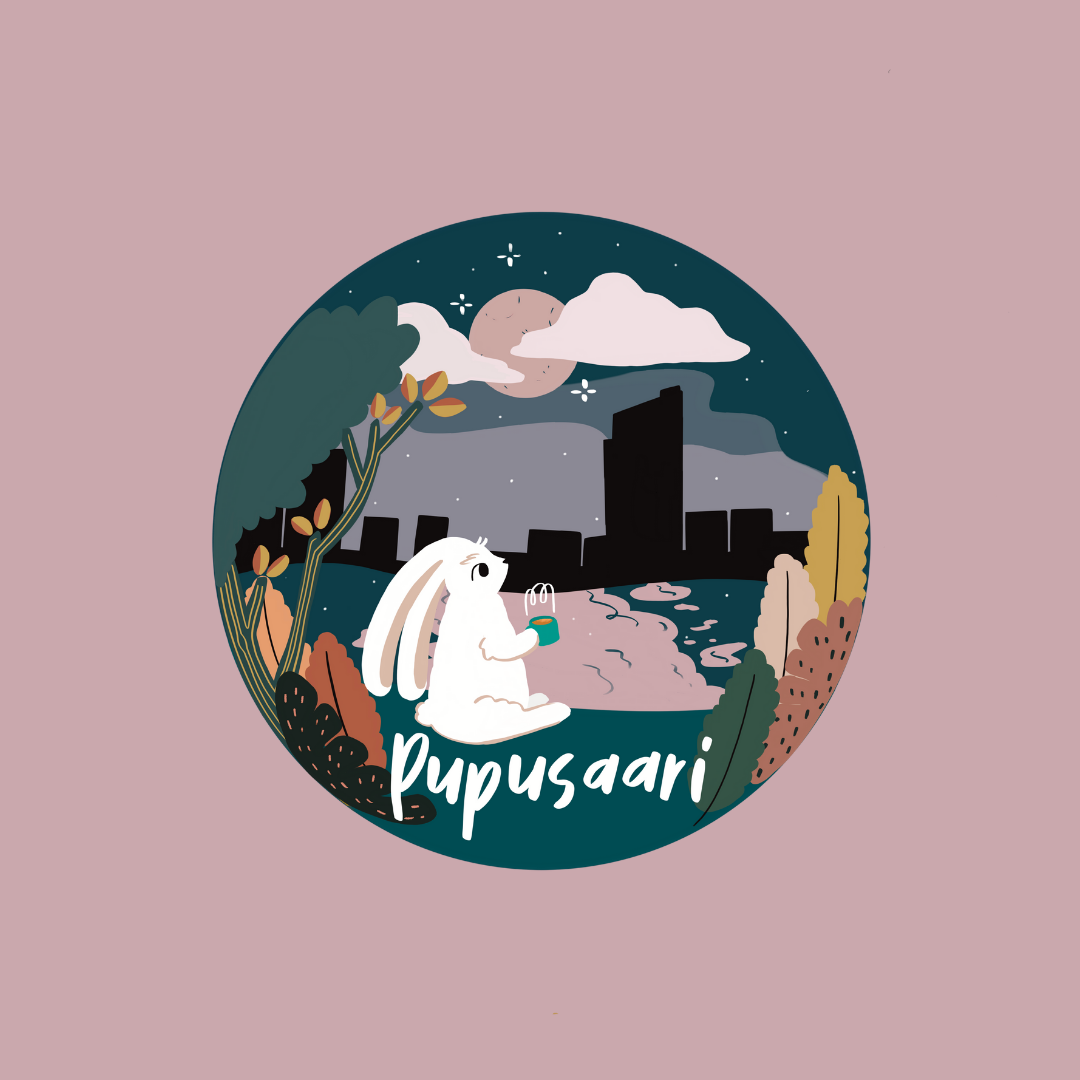 Pupusaari/Logo