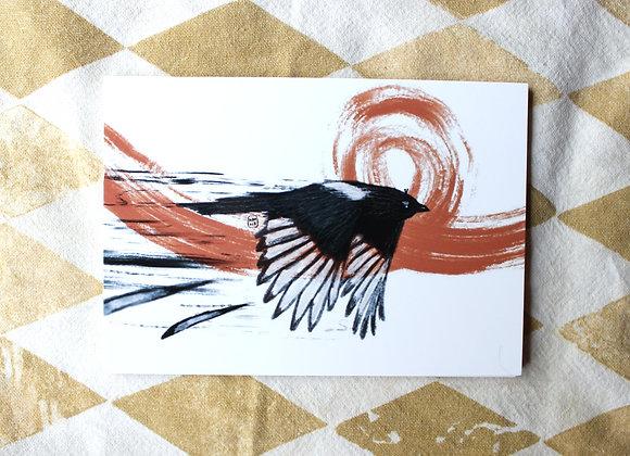 Kohti unelmia - Postikortti