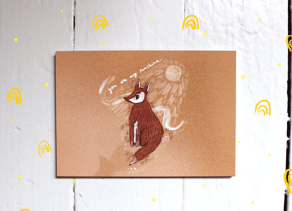 Silmäteräni - Postikortti