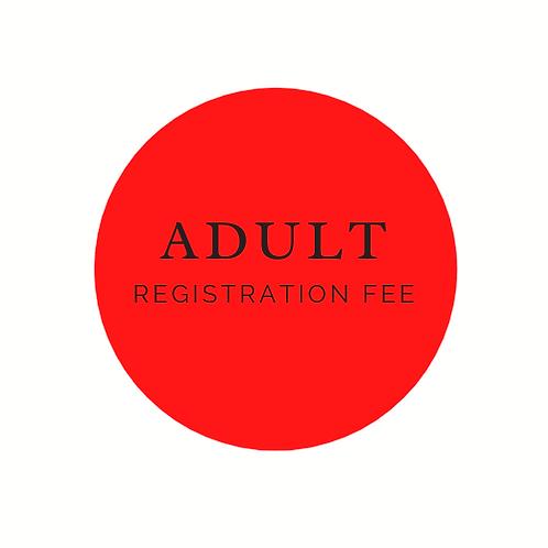Adult Registration Fee