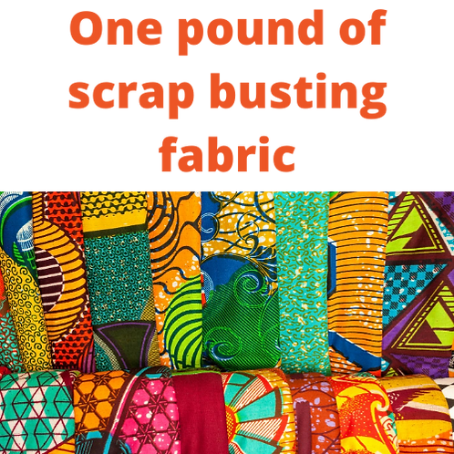 1 POUNDS SCRAP BUSTER FABRIC