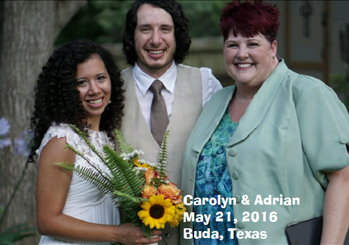 Adrian and Carolyn wedding