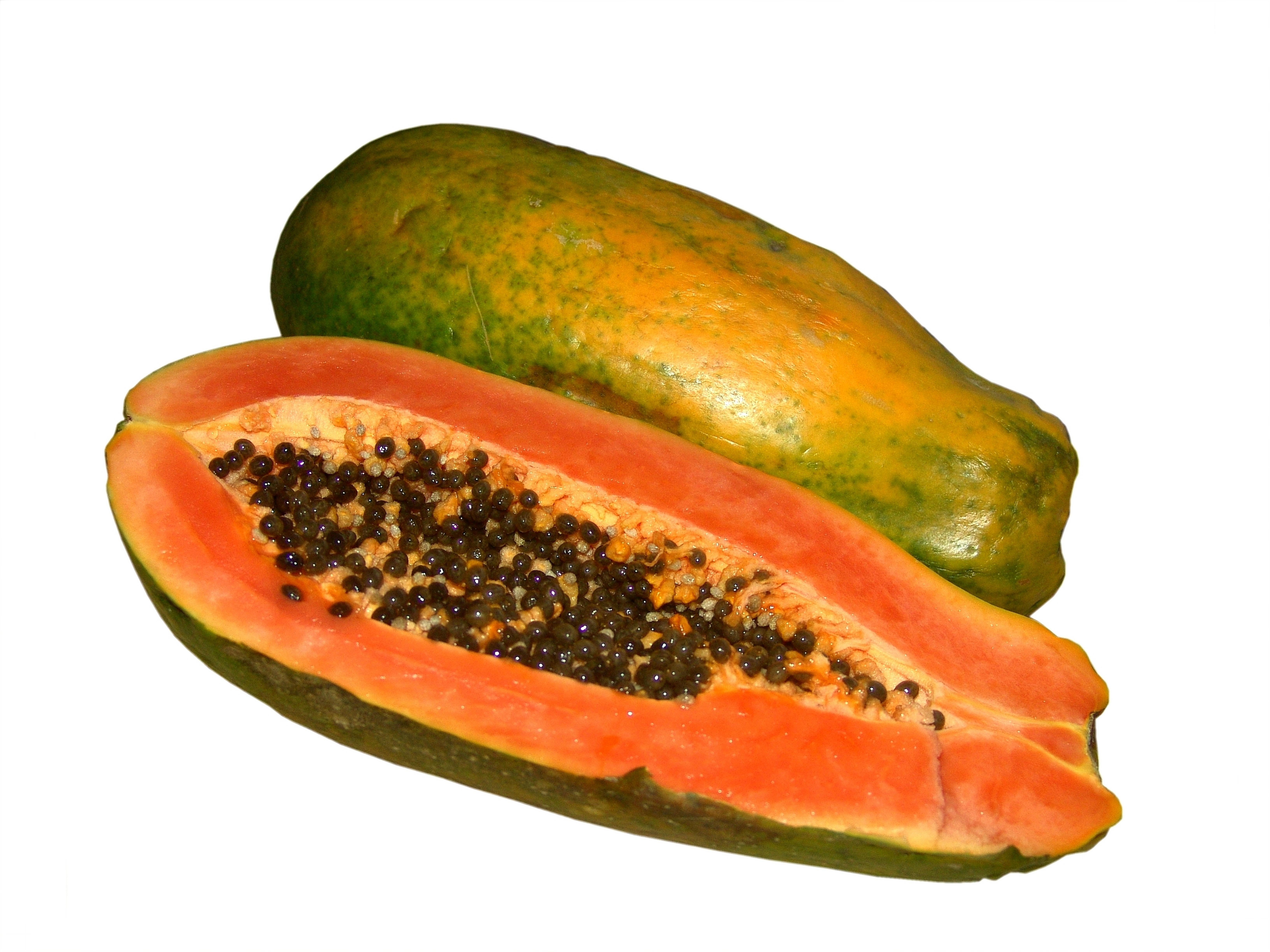 Papaya Cut Whole XL
