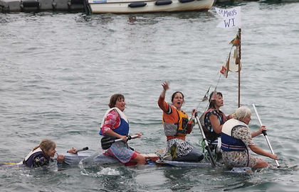 St Mary's WI at the Islands' Regatta 2016