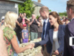 Duke and Duchess of Cambridge on St Martin's, Isles of Scilly
