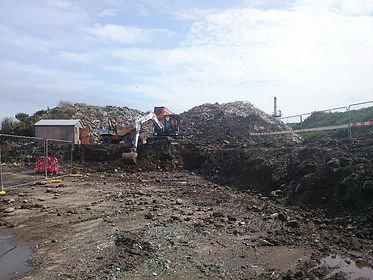 Moorwell waste site, St Mary's, Isles of Scilly