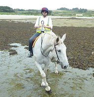 Horse Riding, Porth Hellick, St Mary's, Isles of Scilly