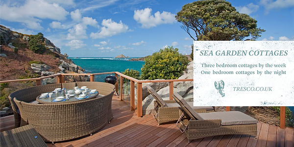Tresco island, Sea Garden Cottages