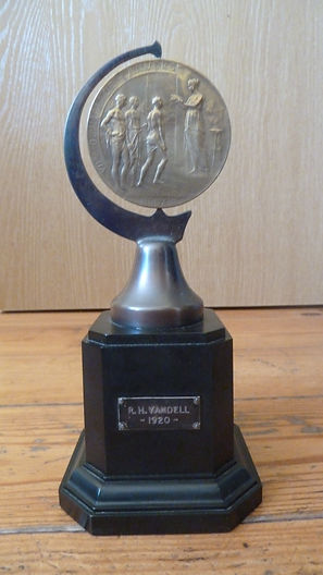 1920 Olympics participation trophy