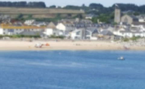 Air Ambulance on Porthcressa Beach, Isles of Scilly
