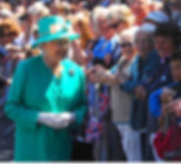 Queen Elizabeth II on St Mary's, Isles of Scilly 2011