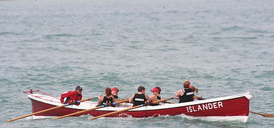 Pilot Gig racing on the Isles of Scilly