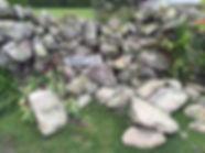 Ben Julian's wall, St Martin's, Isles of Scilly