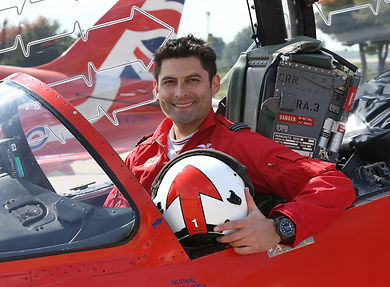 Red ArrowsSquadron Leader David Montenegro - Red 1 (Team Leader)