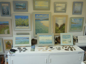 Artist Studio on St Mary's, Isles of Scilly