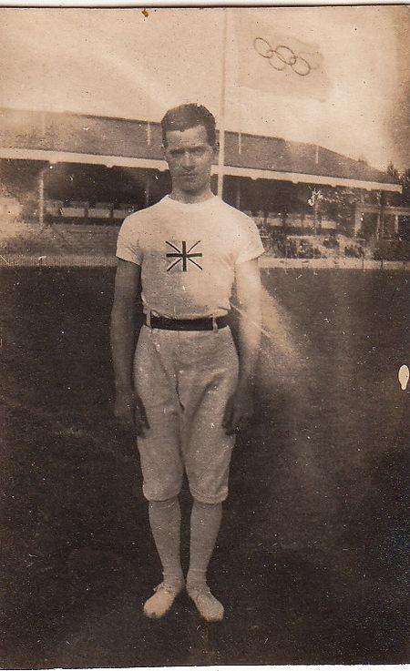 Ralph Yandell, British gymnast at the 1920 Olympics