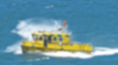 Star of Life, Ambulance Boat, Isles of Scilly